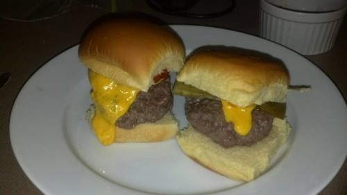 One thick burger exception: Steamed Cheeseburgers - Very good.