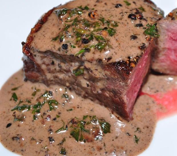 Valentine's Day Meal - Steak Au Poivre