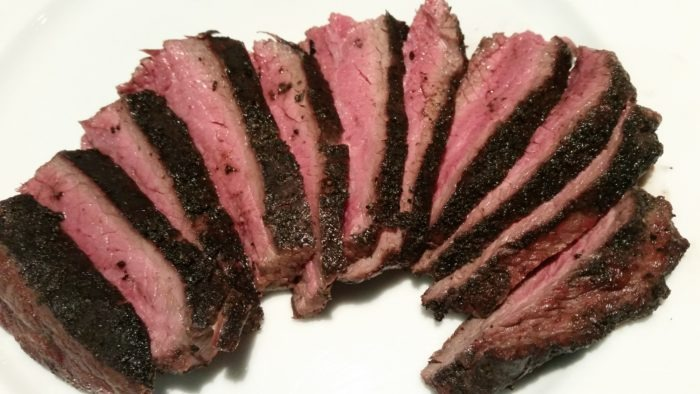 Flank Steak with Hardcore Carnivore Rub