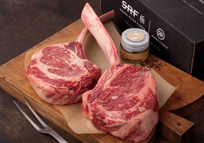 American Wagyu Tomahawk Steak Gift Box