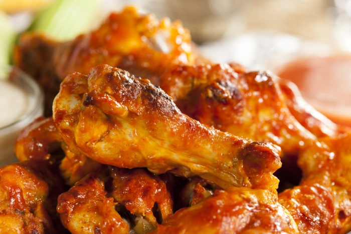 Chicken Wings for the Super Bowl