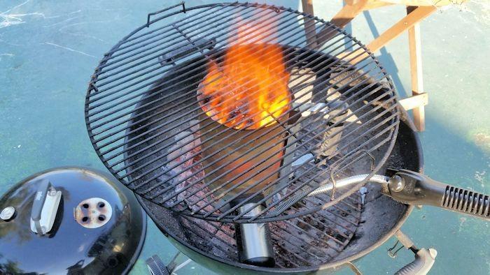 BBQ Dragon Chimney