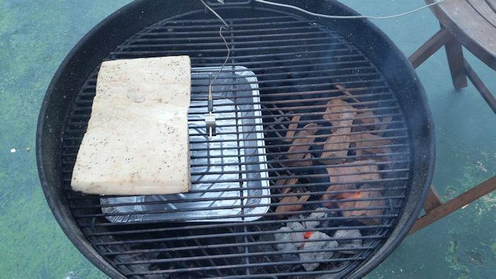 Weber Kettle bacon