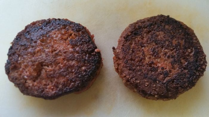 Cooked Beyond Burger Patties