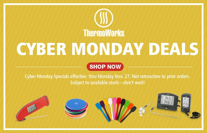 ThermoWorks Cyber Monday