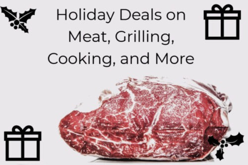 Holiday Deals for meat lovers