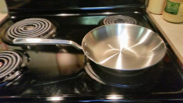 10 inch stainless steel skillet